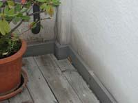 Der Balkon Aus Holz Konstruktion